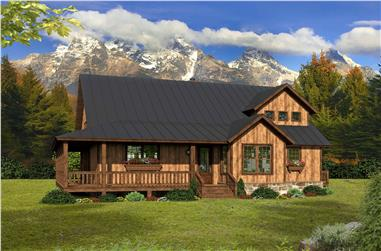 3-Bedroom, 2100 Sq Ft Country Home - Plan #196-1140 - Main Exterior