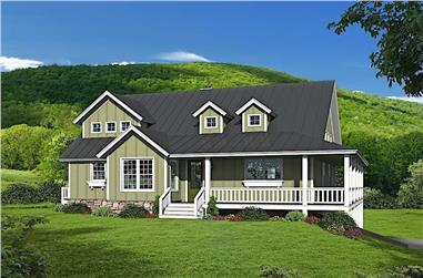 3-Bedroom, 2200 Sq Ft Farmhouse Style Home - Plan #196-1181 - Main Exterior