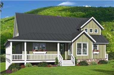 3-Bedroom, 2438 Sq Ft Farmhouse Home - Plan #196-1201 - Main Exterior