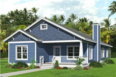 3-Bedroom, 2168 Sq Ft Craftsman Home - Plan #196-1203 - Main Exterior