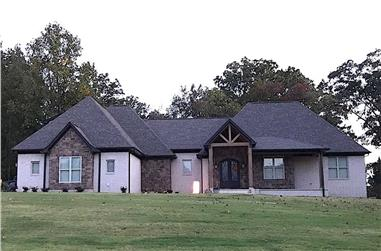 3-Bedroom, 3642 Sq Ft French Home - Plan #196-1210 - Main Exterior