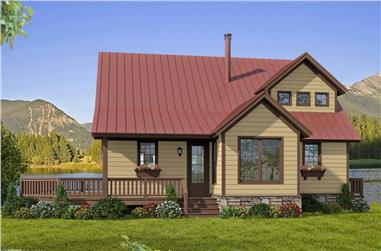 3-Bedroom, 1970 Sq Ft Farmhouse Home - Plan #196-1247 - Front Exterior