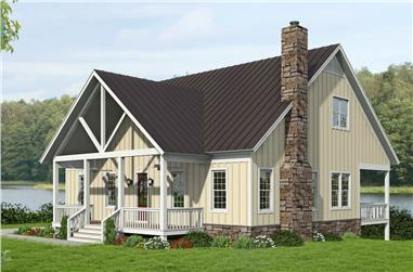 3-Bedroom, 2458 Sq Ft Farmhouse House Plan - 196-1248 - Front Exterior