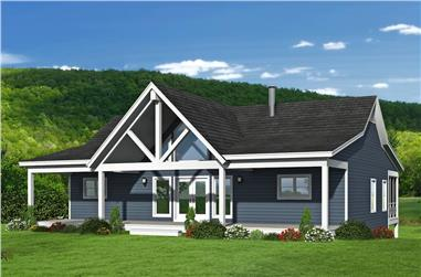 4-Bedroom, 2569 Sq Ft Ranch Home Plan - 196-1249 - Main Exterior