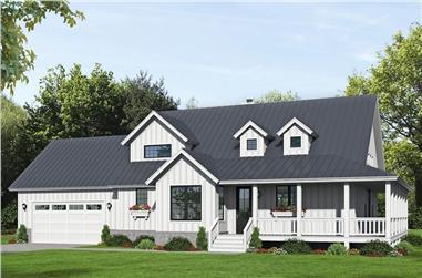 3-Bedroom, 2123 Sq Ft Farmhouse Home - Plan #196-1251 - Main Exterior