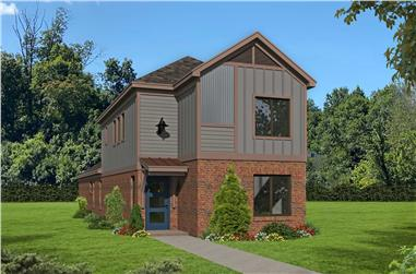 3-Bedroom, 1888 Sq Ft Traditional Home - Plan #196-1278 - Main Exterior