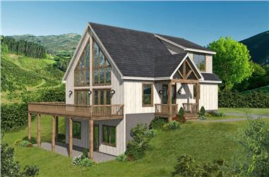 3–5-Bedroom, 1770–2882 Sq Ft Country Home - Plan #196-1281 - Main Exterior