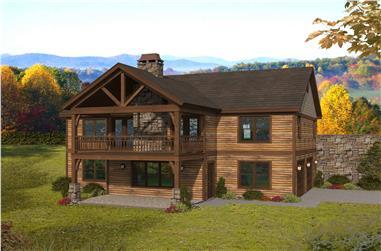 2–3-Bedroom, 1911–2172 Sq Ft Ranch Home - Plan #196-1282 - Main Exterior