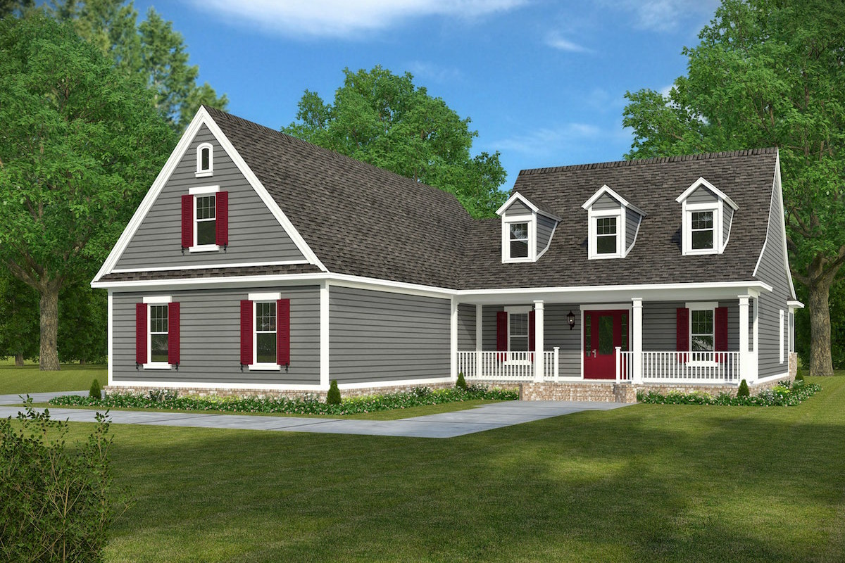 4 bedrm 2932 sq ft acadian house plan 197 1006 for Acadian home plans