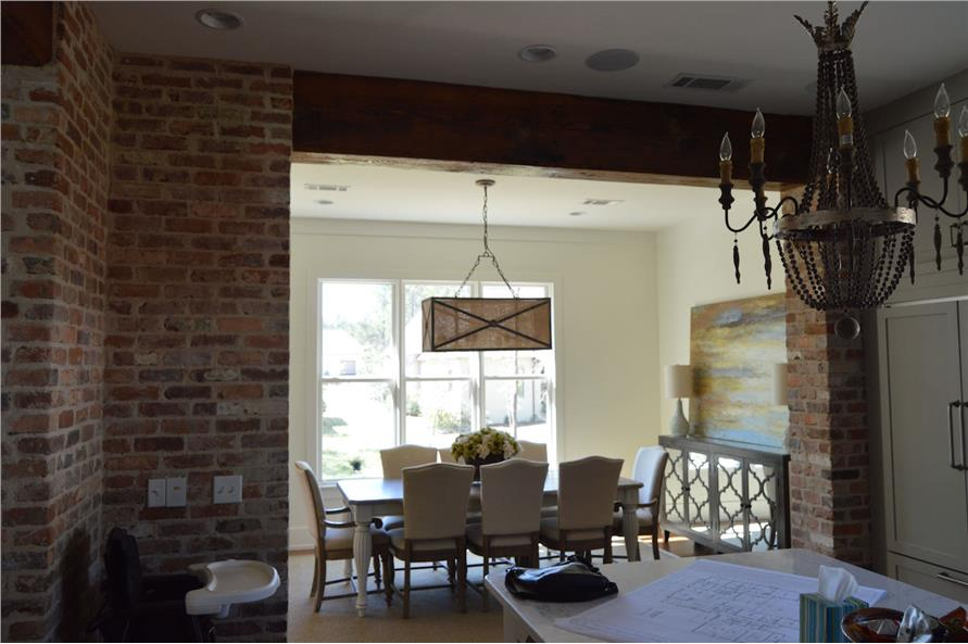 Dining Room of this 4-Bedroom,3453 Sq Ft Plan -3453