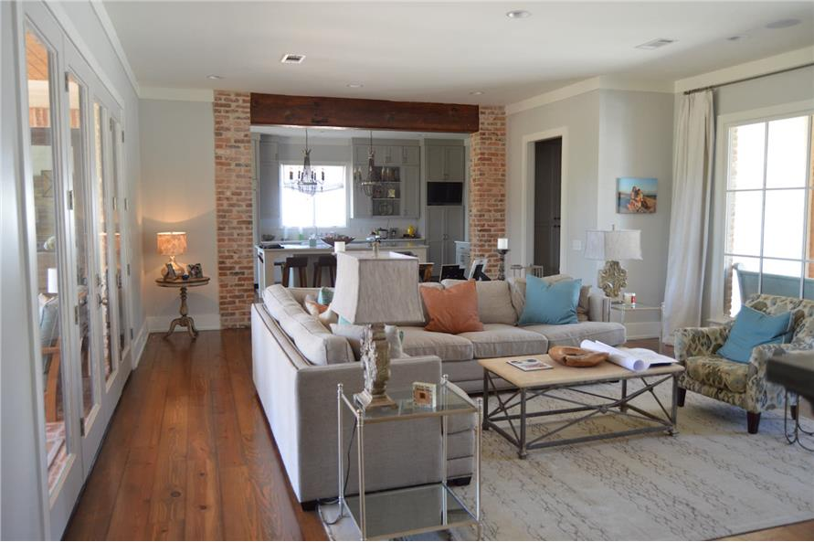 Great Room of this 4-Bedroom,3453 Sq Ft Plan -3453