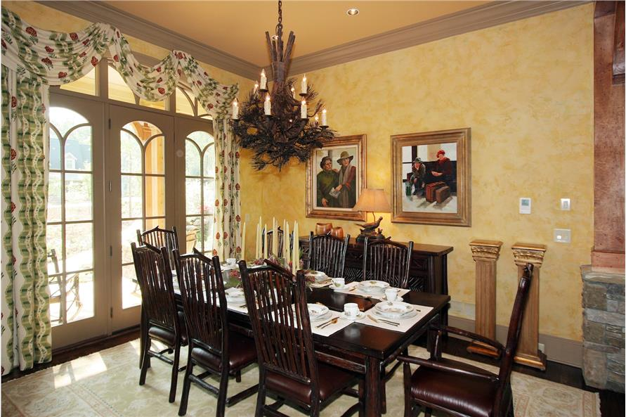 198-1010: Home Interior Photograph-Dining Room
