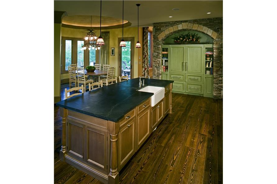 198-1010: Home Interior Photograph-Kitchen