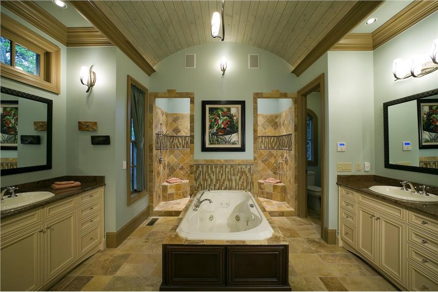 198-1010: Home Interior Photograph-Master Bathroom