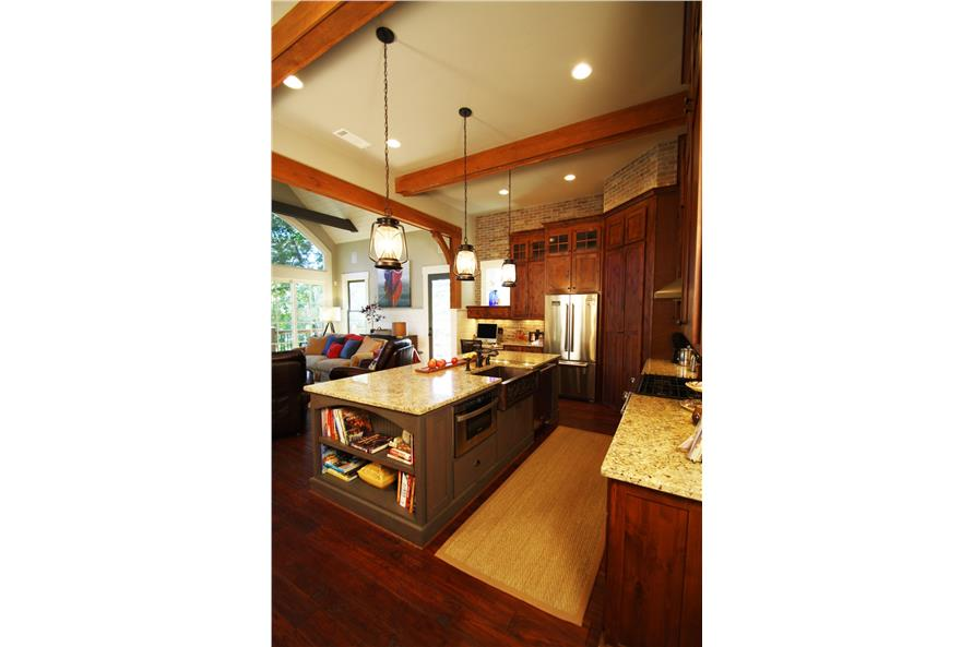 Kitchen of this 4-Bedroom,2510 Sq Ft Plan -2510