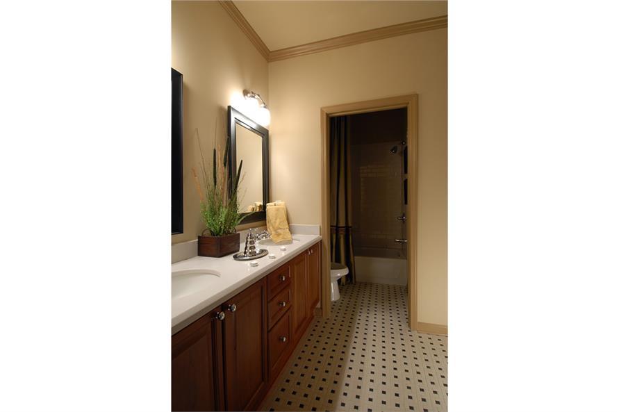 Bathroom of this 4-Bedroom,3166 Sq Ft Plan -3166