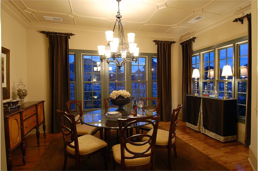 Dining Room of this 4-Bedroom,3166 Sq Ft Plan -3166