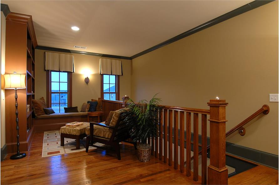 Family Room of this 4-Bedroom,3166 Sq Ft Plan -3166