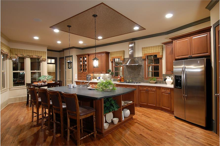 Kitchen of this 4-Bedroom,3166 Sq Ft Plan -3166