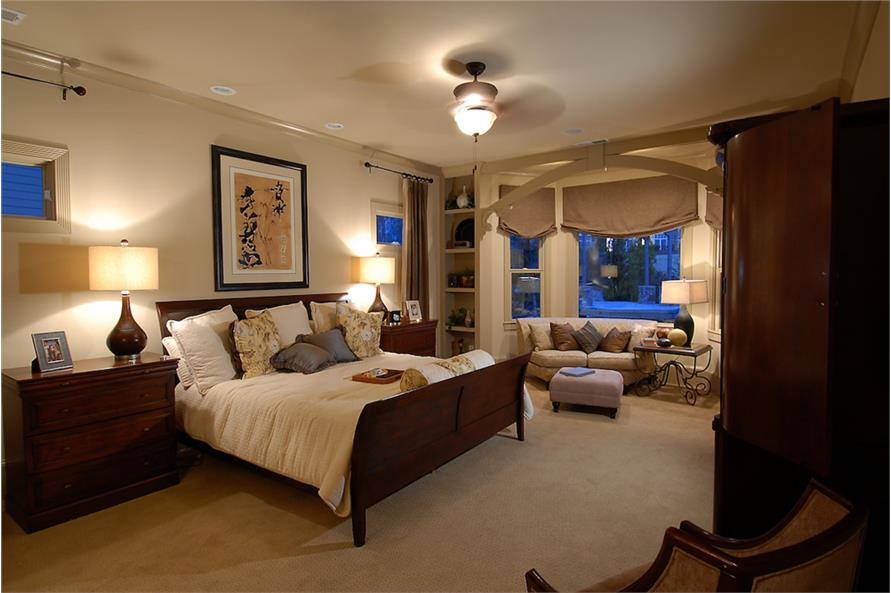 Master Bedroom of this 4-Bedroom,3166 Sq Ft Plan -3166