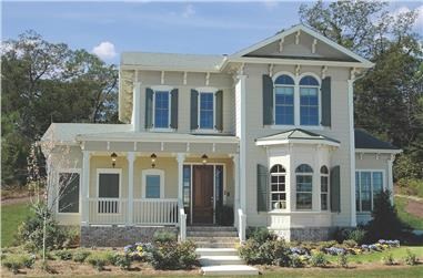 4-Bedroom, 3166 Sq Ft Victorian Home Plan - 198-1021 - Main Exterior