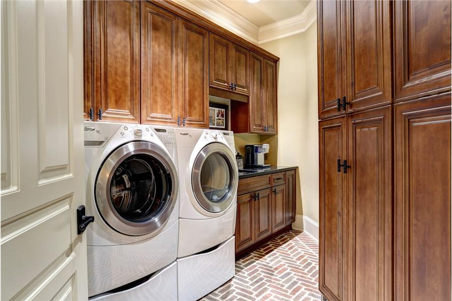 Laundry Room of this 3-Bedroom,3480 Sq Ft Plan -3480
