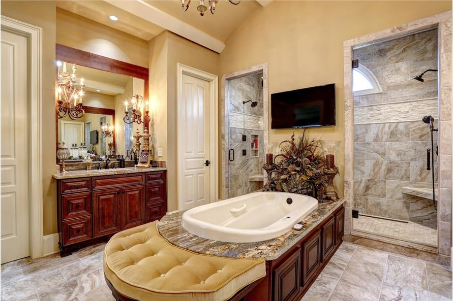 Master Bathroom of this 3-Bedroom,3480 Sq Ft Plan -3480