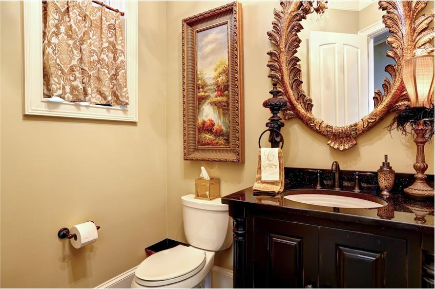 Powder Room of this 3-Bedroom,3480 Sq Ft Plan -3480