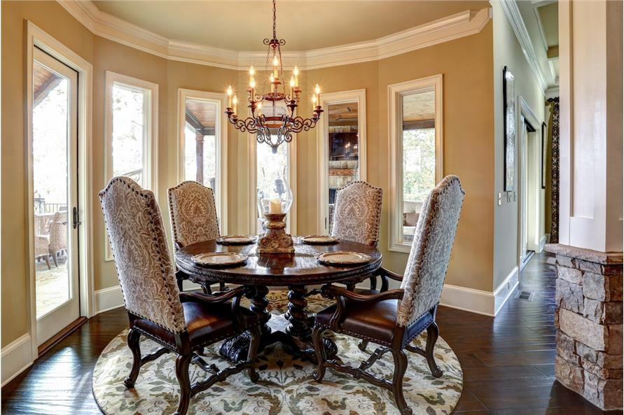 Dining Room of this 3-Bedroom,3480 Sq Ft Plan -3480