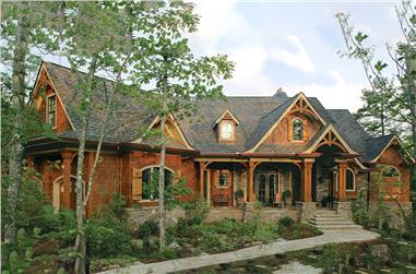 3-Bedroom, 2707 Sq Ft Cottage Home Plan - 198-1045 - Main Exterior