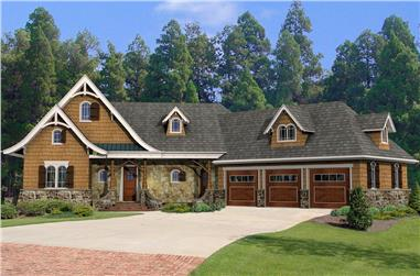 3-Bedroom, 2337 Sq Ft Cottage Home - Plan #198-1049 - Main Exterior