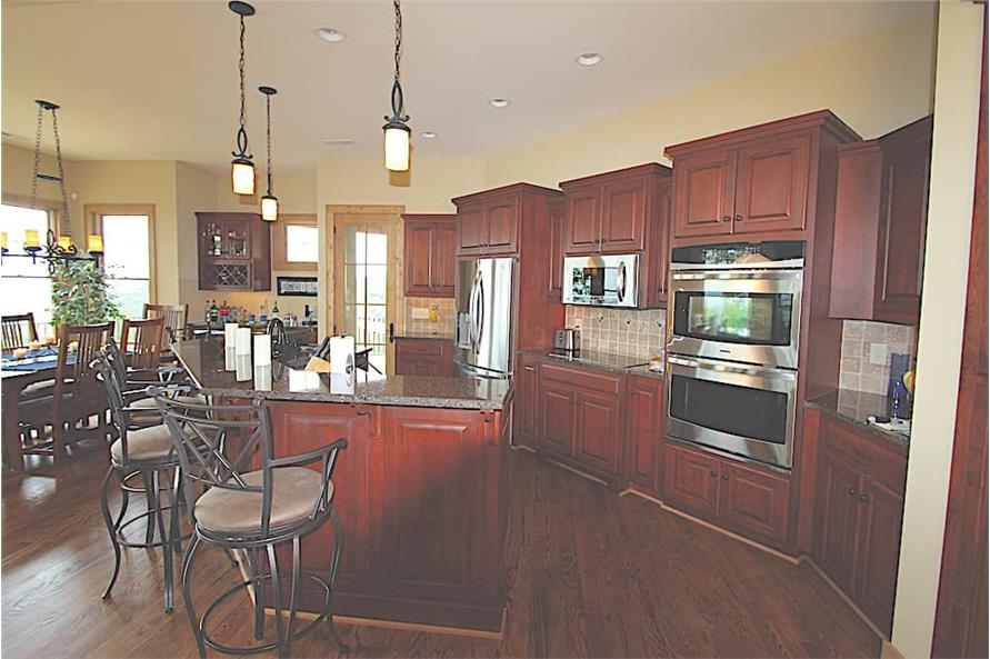 Kitchen of this 3-Bedroom,2184 Sq Ft Plan -2184