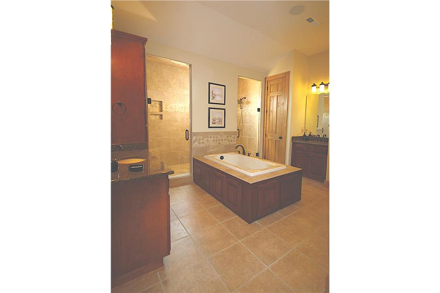 Master Bathroom of this 3-Bedroom,2184 Sq Ft Plan -2184