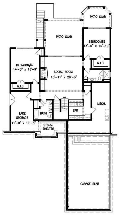 Farmhouse House Plan 3 Bedrms 3 Baths 2498 Sq Ft