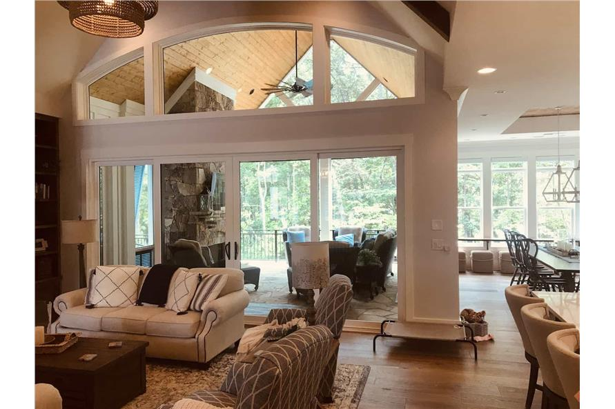 Great Room: Windows of this 3-Bedroom,2498 Sq Ft Plan -198-1053