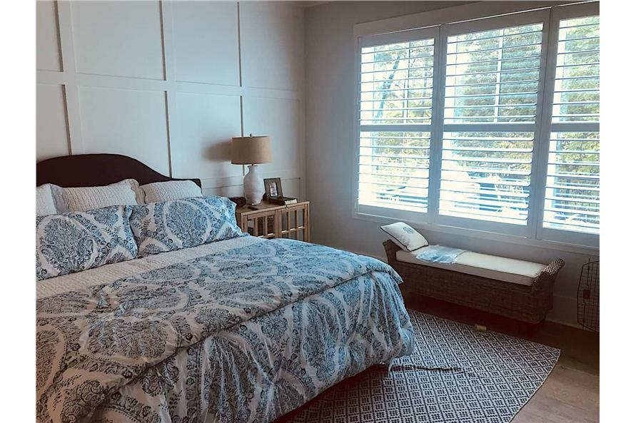 Master Bedroom of this 3-Bedroom,2498 Sq Ft Plan -198-1053