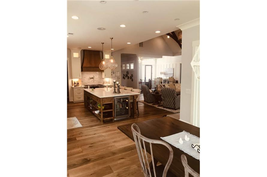 Kitchen of this 3-Bedroom,2498 Sq Ft Plan -198-1053