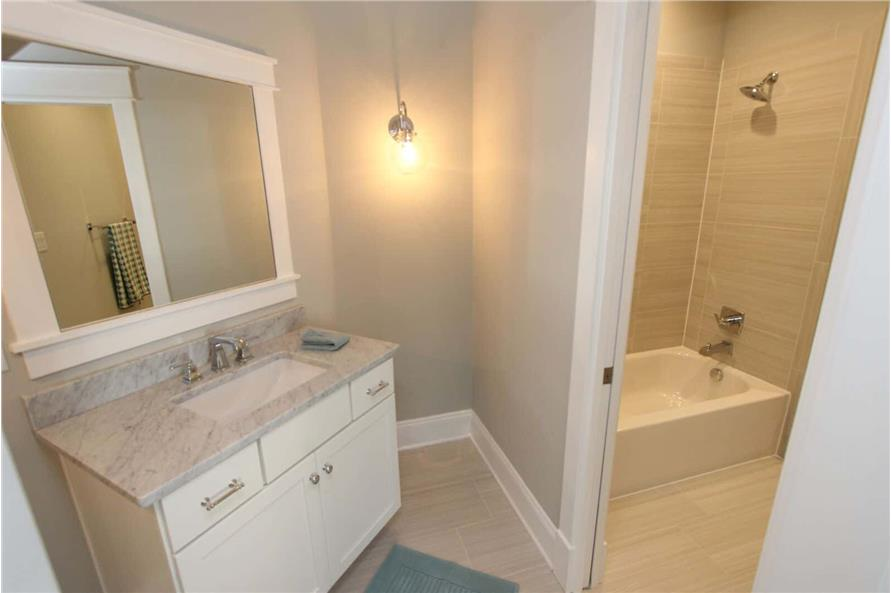 Bathroom of this 5-Bedroom,3970 Sq Ft Plan -198-1060