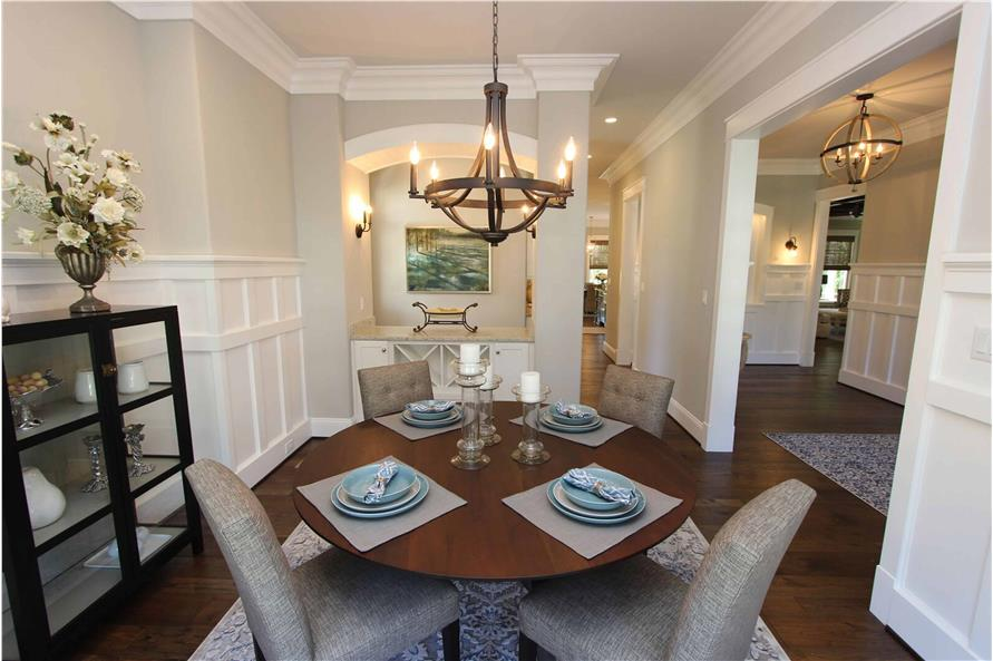 Dining Room of this 5-Bedroom,3970 Sq Ft Plan -198-1060