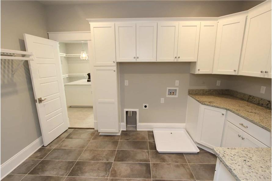 Laundry Room of this 5-Bedroom,3970 Sq Ft Plan -198-1060