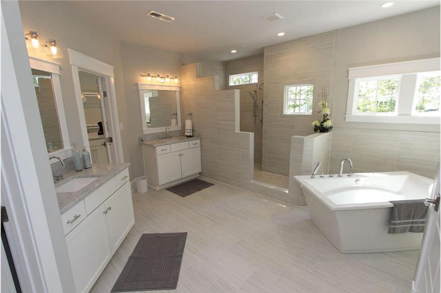 Master Bathroom of this 5-Bedroom,3970 Sq Ft Plan -198-1060