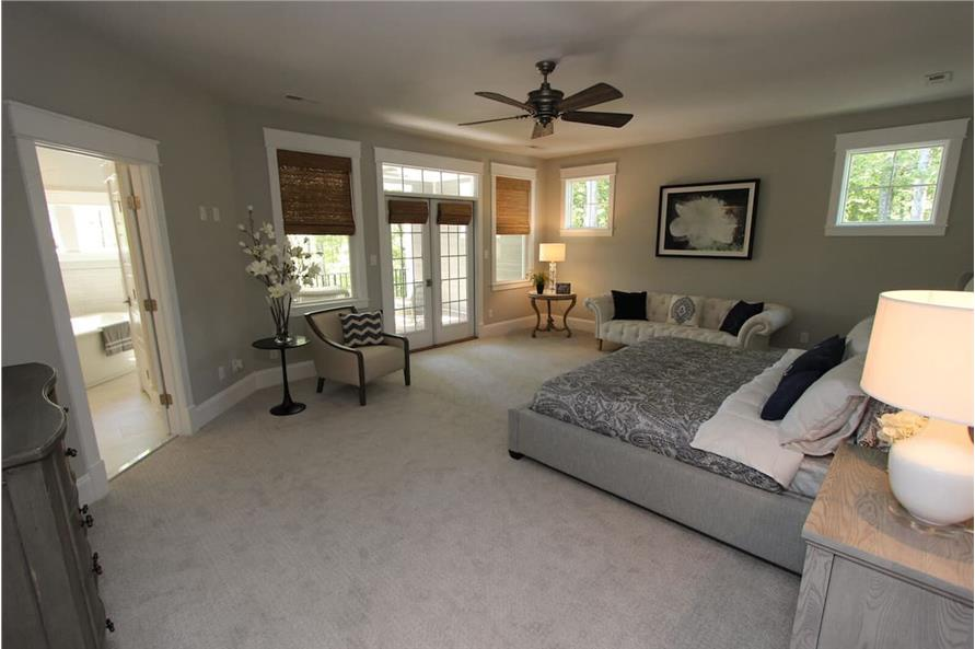 Master Bedroom of this 5-Bedroom,3970 Sq Ft Plan -198-1060