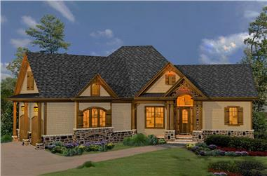 3-Bedroom, 2090 Sq Ft Cottage Home - Plan #198-1063 - Main Exterior