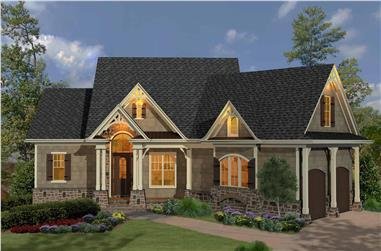 3-Bedroom, 1873 Sq Ft Cottage Home - Plan #198-1064 - Main Exterior