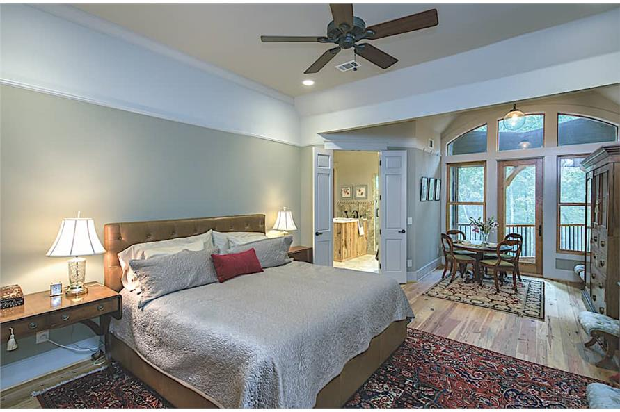 Master Bedroom of this 3-Bedroom,2574 Sq Ft Plan -2574