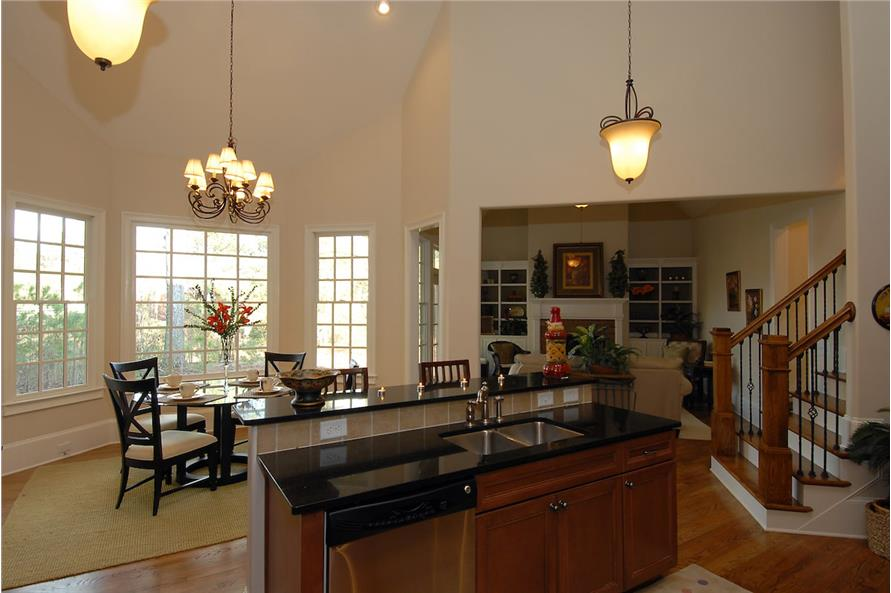 Dining Room of this 4-Bedroom,3337 Sq Ft Plan -3337