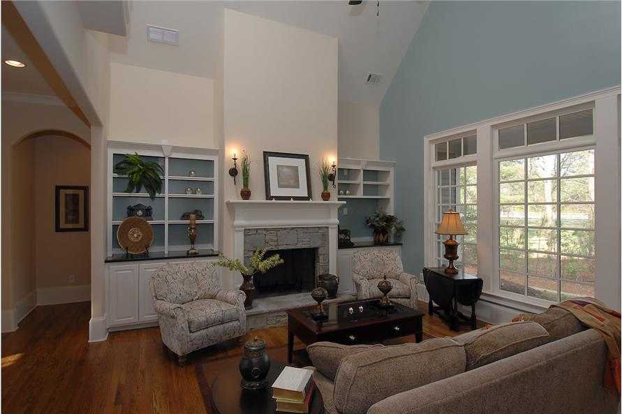 Great Room of this 4-Bedroom,3337 Sq Ft Plan -3337