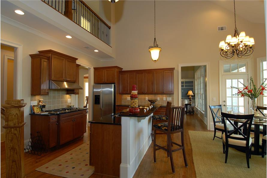 Kitchen of this 4-Bedroom,3337 Sq Ft Plan -3337