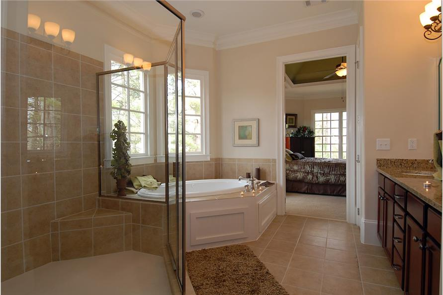 Master Bathroom of this 4-Bedroom,3337 Sq Ft Plan -3337