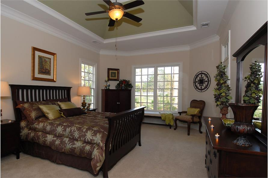 Master Bedroom of this 4-Bedroom,3337 Sq Ft Plan -3337